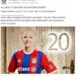 Leonie Maier bewirbt Türchen Nummer 20